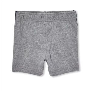 NWT PLACE Boys Gray Sports Gym Jersey Shorts 5T